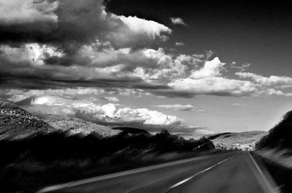 On the road in VA